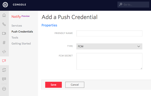 Configuring Android Push Notifications - Twilio