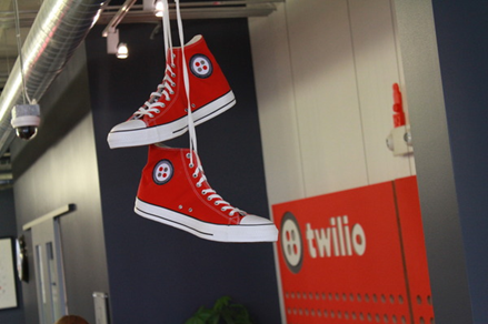 Twilio wears the customers' shoes