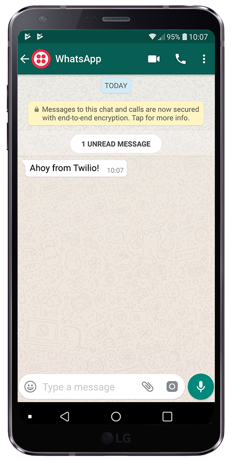 Send a WhatsApp message with C# in 30 Seconds - Twilio