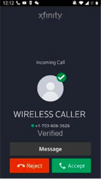 Verified Wireless Caller