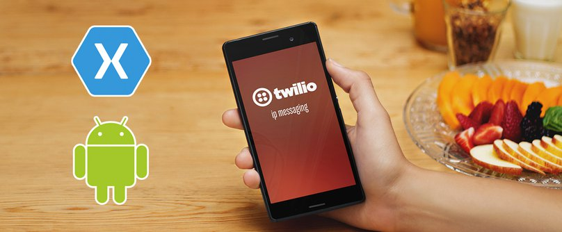 How to Build Android Chat Apps using Xamarin and Twilio - Twilio