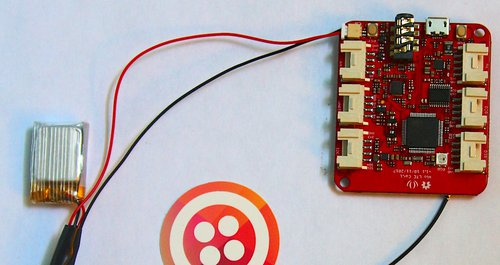 Wio Tracker Insert Battery