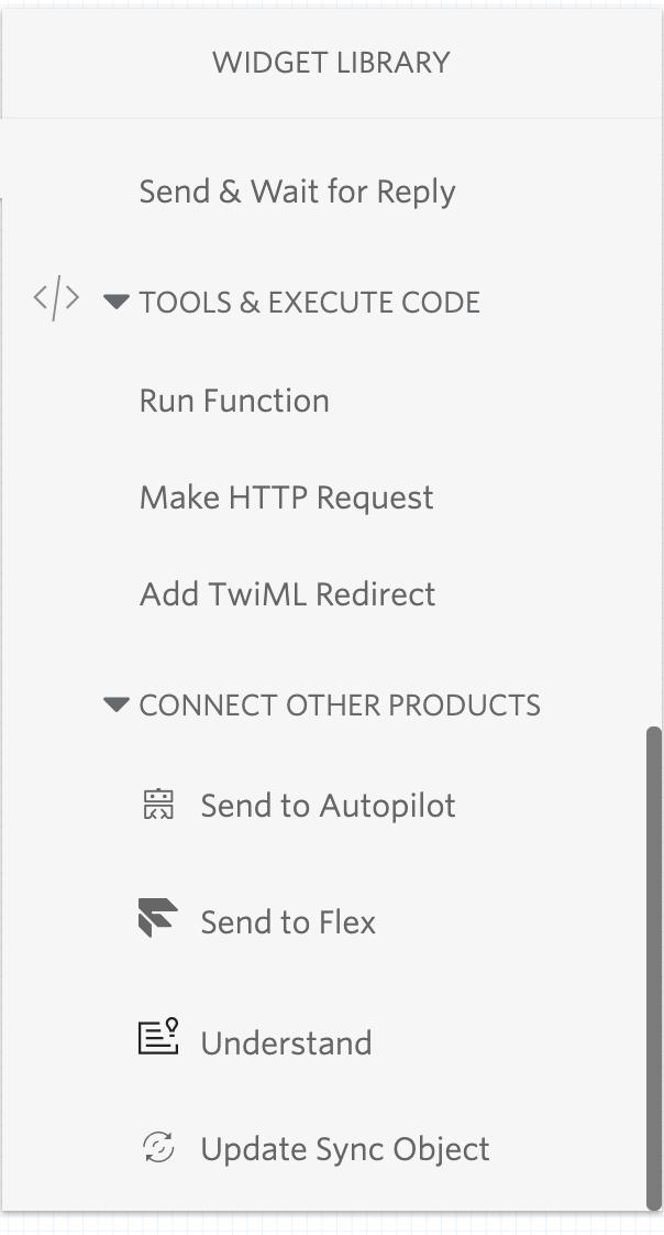 send to autopilot widget