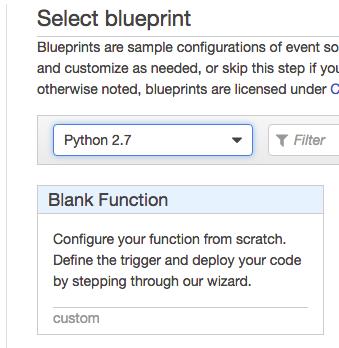 AWS Lambda Python Function