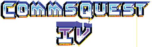 Commsquest IV Logo