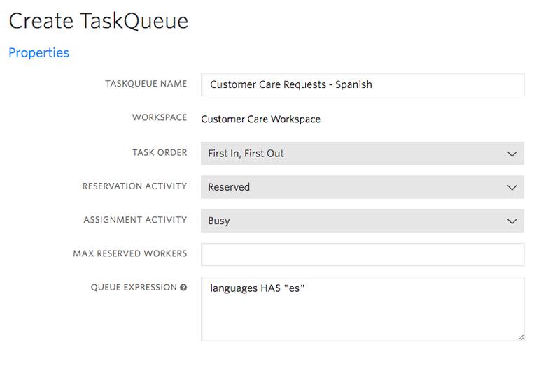 Task Queue #1 Details