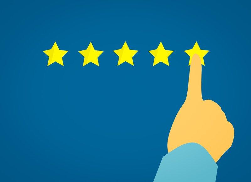 CSAT rating through star ranking