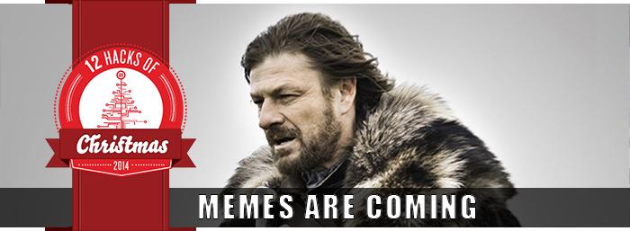 Christmas Holidays Meme.12 Hacks Of Christmas Day 4 Meme O Gram Twilio