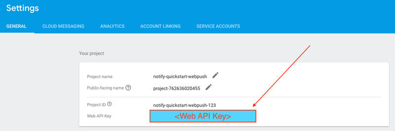 Web Push Quickstart: Firebase and Twilio Notify - Twilio