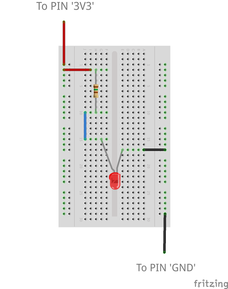 Twilioquest Programmable Wireless Safety First Then Light An Led Building A Circuit On Breadboard Red From The