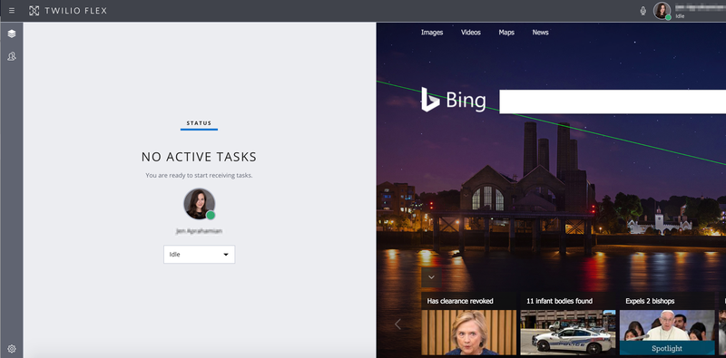 Flex with Bing