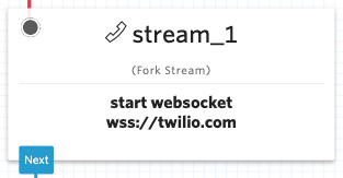 Fork Stream Studio Widget