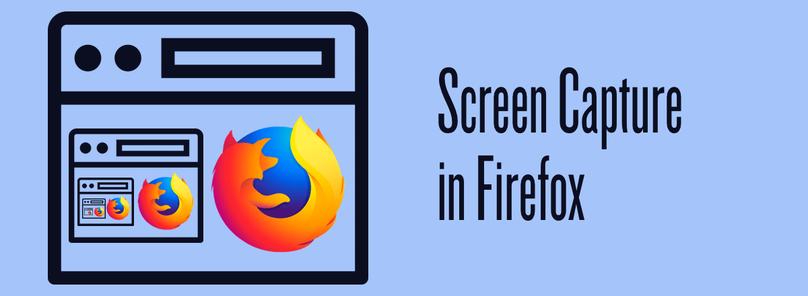 Screen capture in Firefox - Twilio