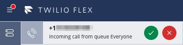 inbound Flex call