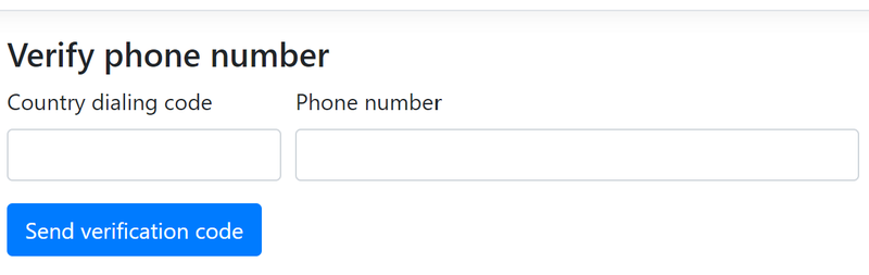 Verifying Phone Number Ownership with Twilio using ASP NET Core