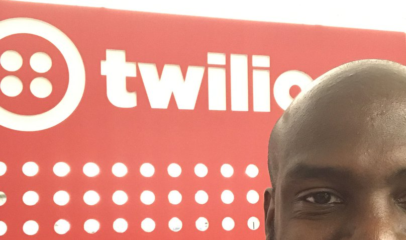 Marcus Battle at TwilioHQ