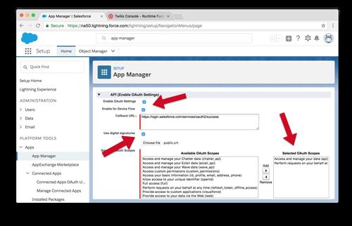 Accessing Salesforce CRM Data within Twilio Studio - Twilio
