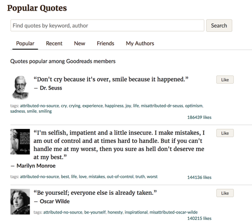 Parse HTML for Book quotes with Python, Beautiful Soup, and