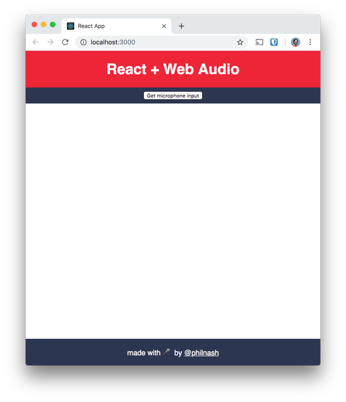 Audio visualisation with the Web Audio API and React - Twilio