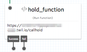Run function widget