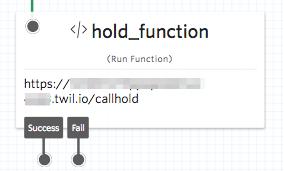 Run function widget