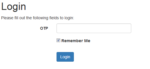 Implement One Time Password Login & Signup with Yii 2 PHP and Twilio