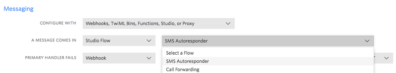 Set autoresponder to number