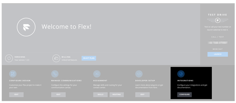 Flex Salesforce Integration