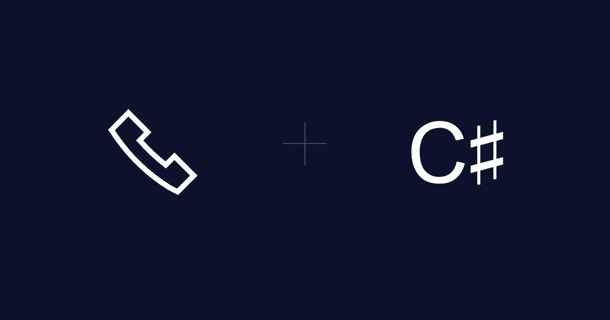 How to Gather User Input via Keypad (DTMF Tones) in C# - Twilio