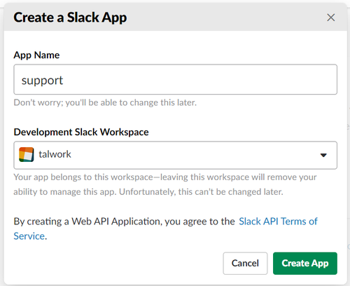 Create an Incoming Webhook to Forward SMS to Slack with