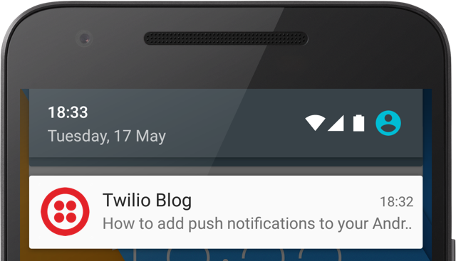 How to add push notifications to Android - Twilio