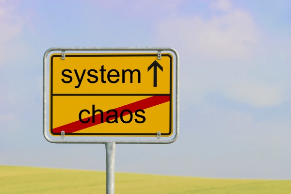 Chaos engineering sign