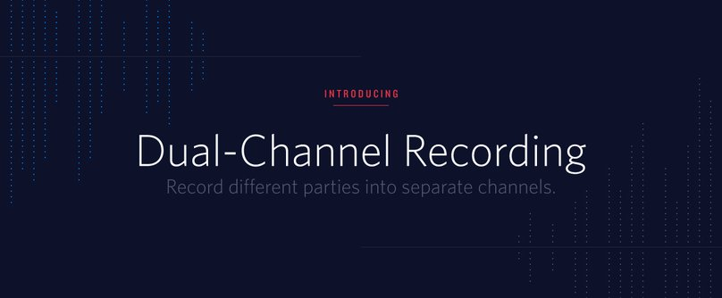 Twilio Dual Channel Recording