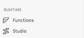 Studio menu option in the Twilio console
