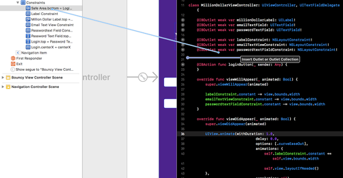 Constraint Animations on iOS Apps using XCode and Swift - Twilio