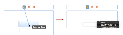 xcode country code outlet
