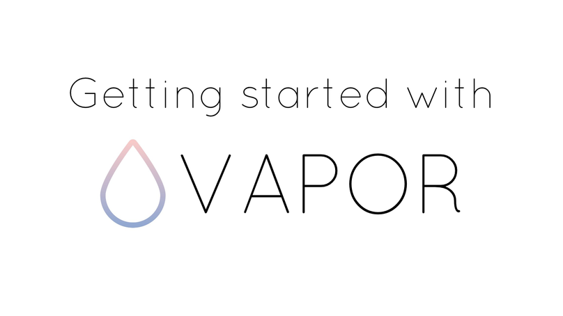 Getting Started with Vapor