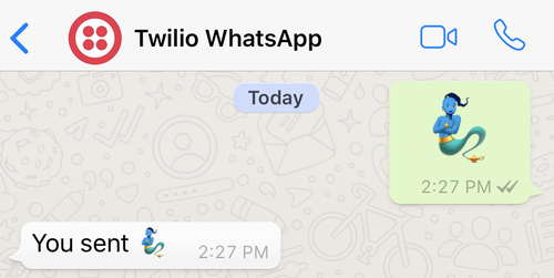 Build an Emojidex with Python and the Twilio WhatsApp API