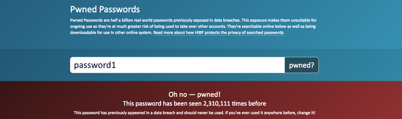 Round up: Libraries for checking Pwned Passwords in your 7