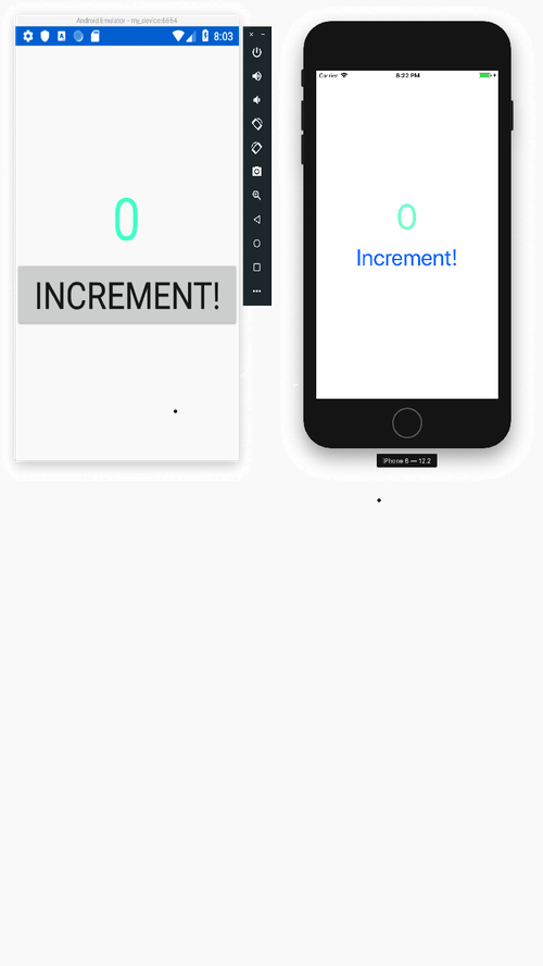 First Xamarin app up and running