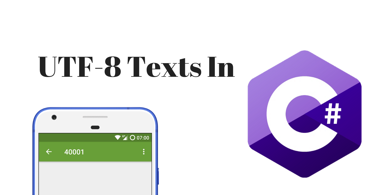Texting emojis and non-Latin characters with C#,  NET and