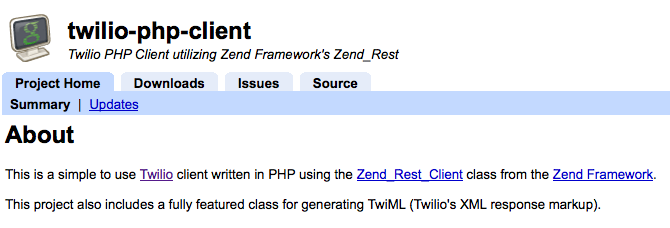 Twilio-php-client-chris-jones