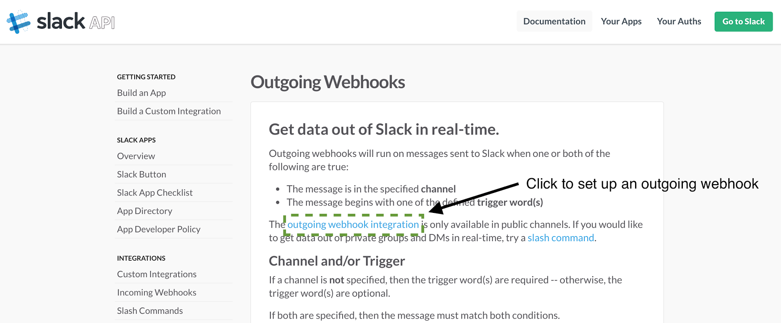 how to create a new slack bot in slack