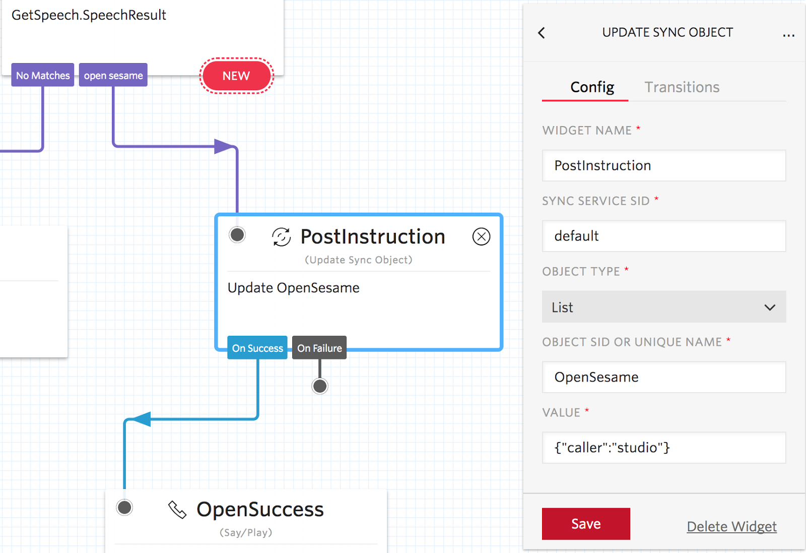 POST to an endpoint with Twilio Studio