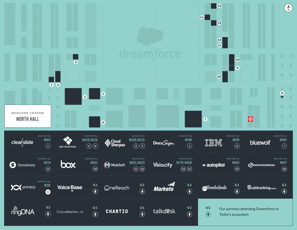DreamforcePartner Map
