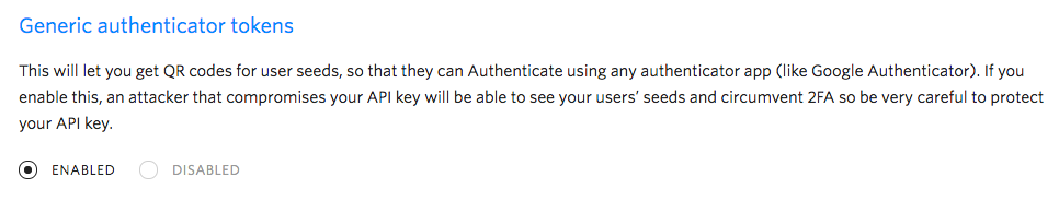 Google Authenticator app support now available in Authy API