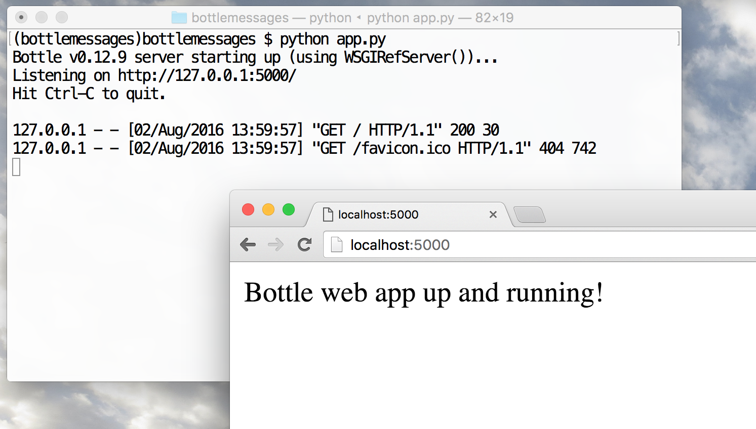 Getting Started with Python, Bottle and Twilio SMS / MMS
