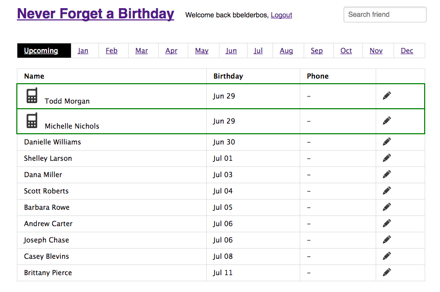 Never Forget A Friend's Birthday with Python, Flask and Twilio - Twilio