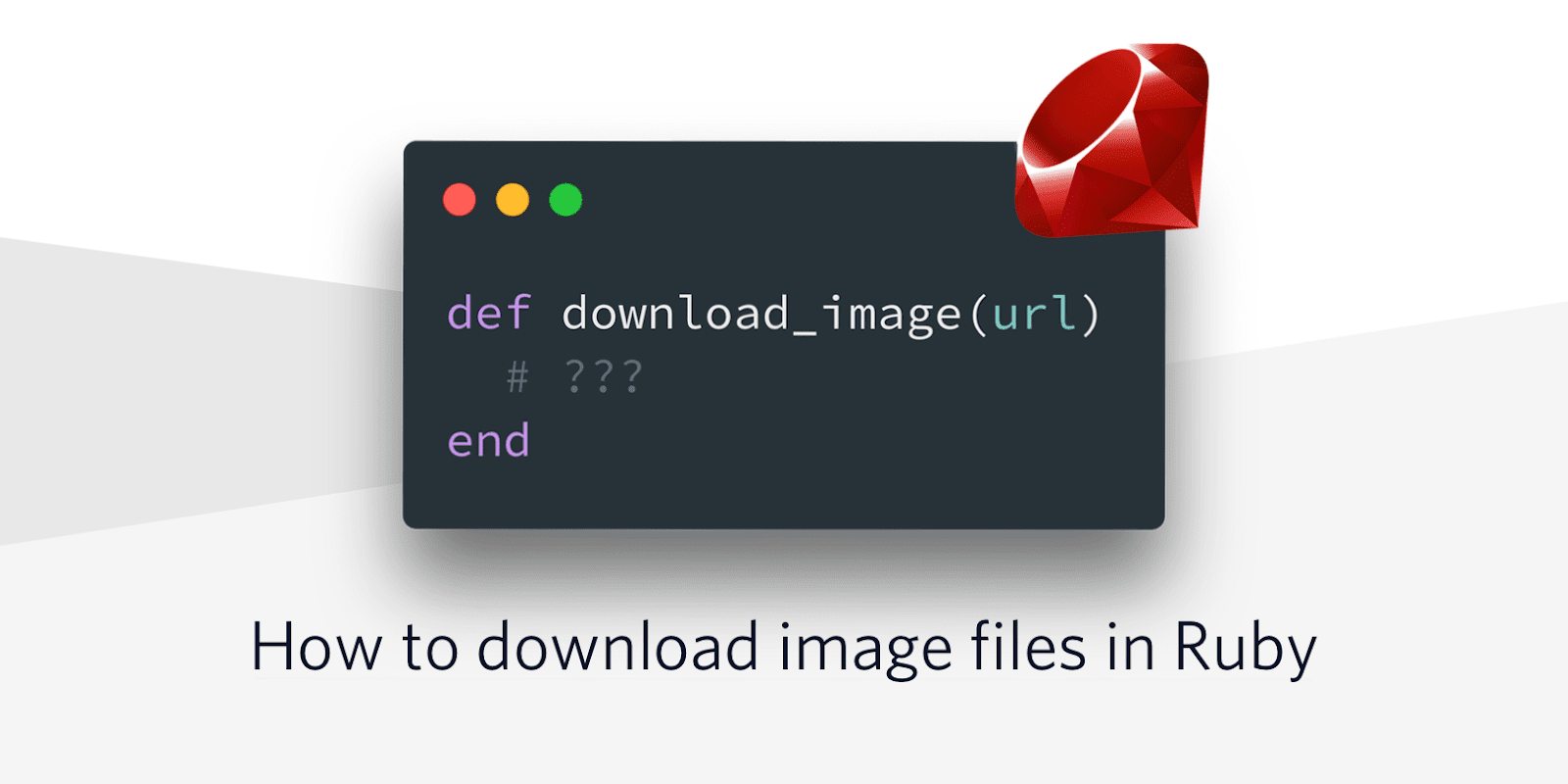How to download image files in Ruby - Twilio