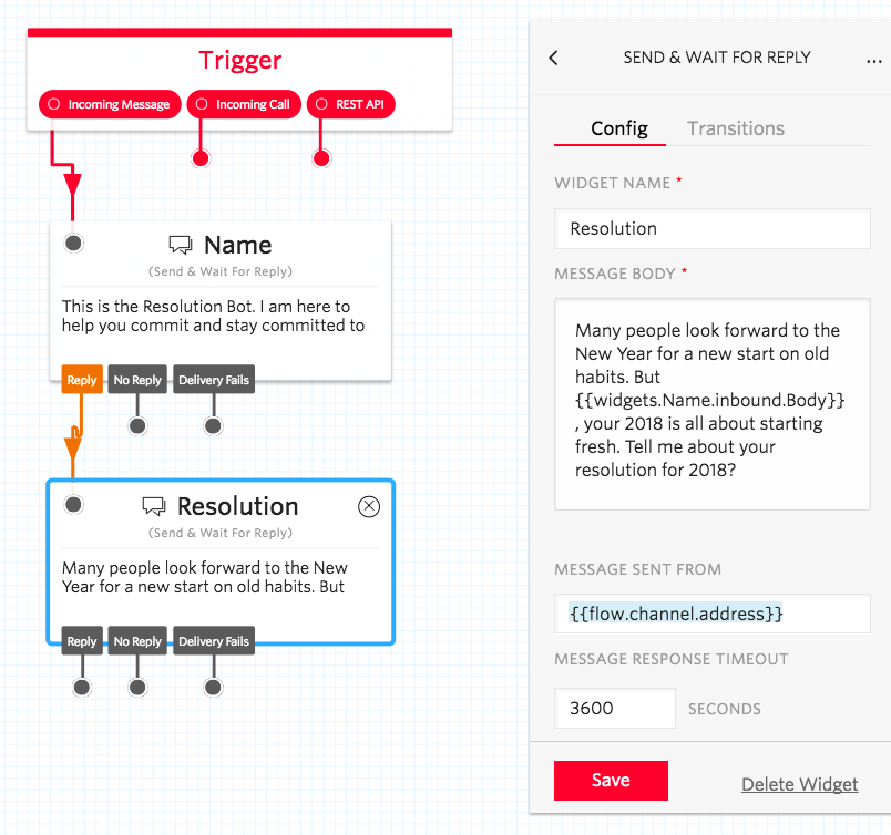 How To: Build a New Year\'s Resolution Bot with Twilio Studio - Twilio